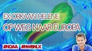 EX-ORKAAN HELENE OP WEG NAAR EUROPA
