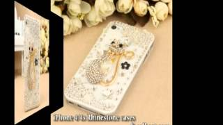 New Arrival! very cool iphone 4 case!! 3D Elegant swan lover heart Rhinestone case for iPhone 4/4s
