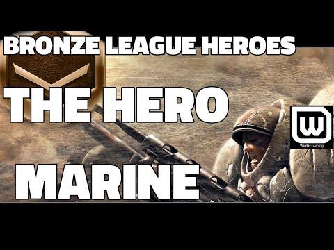 BRONZE LEAGUE HEROES #12 - THE HERO MARINE - Blank v DarksRevenge