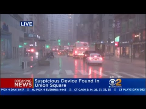 Reports Of Suspicious Package In Union Square