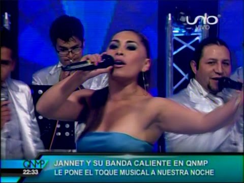 VIDEO: YANET Y LA BANDA KALIENTE - Amor De Tres (en Vivo QNMP) - WWW.VIENDOESLACOSA.COM - Cumbia 2015