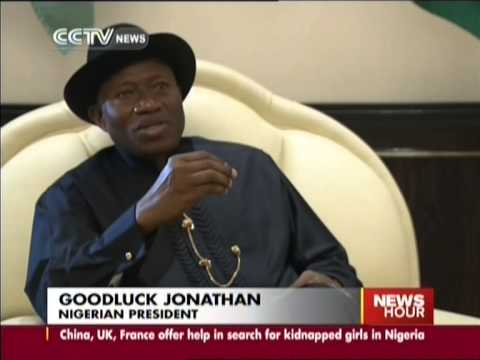 President Goodluck Jonathan vows to rescue missing girls