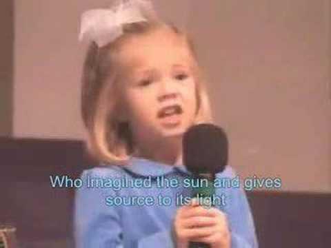 A Little Girl Sings Indescribable - Chris Tomlin