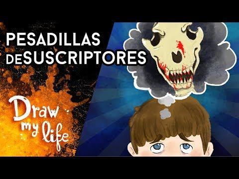 Las PEORES PESADILLAS de LOS SUSCRIPTORES - Draw My Life