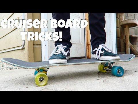 Cruiser Board Tricks! Vlog #78
