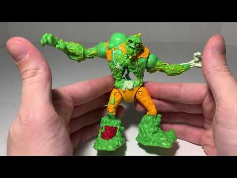 2019 Teenage Mutant Ninja Turtles TMNT Playmates Toys Sewer Squad Muckman Review