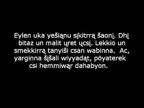 Ėlėniya - a constructed language
