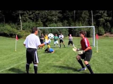 Soccer Goalie Drills – Catch, attack the ball, grass cutter