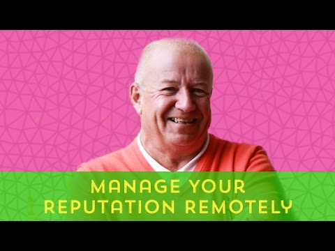 Remote interview: Manage Your Reputation Remotely With Per Frykman