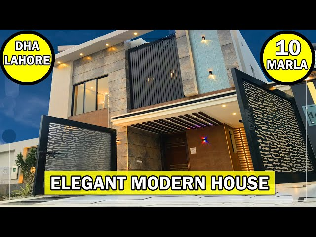 Beautiful Modern House in DHA Rahbar Lahore | Modern Home Interiors | Modern House For Sale in DHA