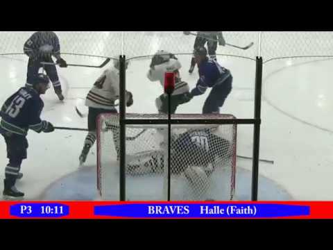 CCHL Highlights Mar 3 2017 Hawkesbury@Brockville