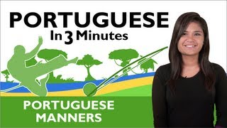 Learn  Brazilian Portuguese - Thank You & You