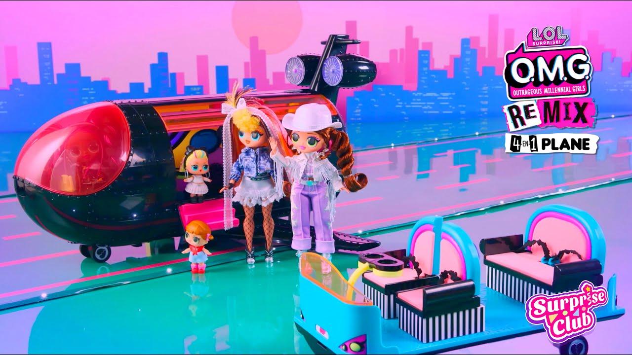 L.O.L. Surprise! Remix Avión 4-en-1   Anuncio TV