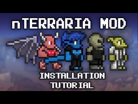 Terraria Tutorial - nTerraria Mod; How to install - YouTube