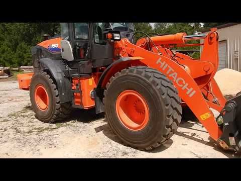 New Hitachi ZW150 Wheel Loader