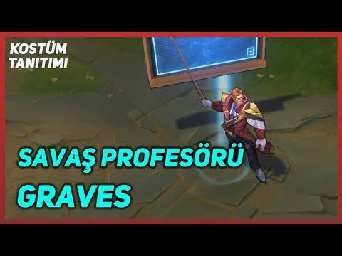 Savaş Profesörü Graves (Kostüm Tanıtımı) League Of Legends
