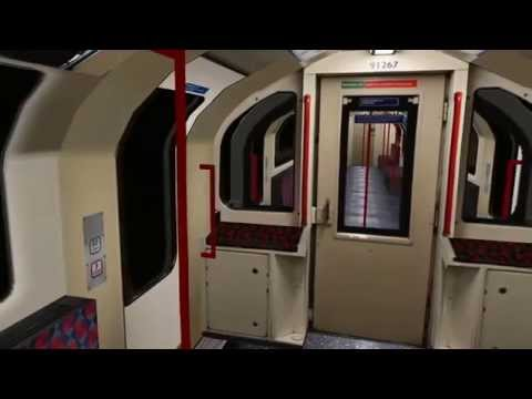 openbve - realistic central line - Ealing Broadway to liverpool street