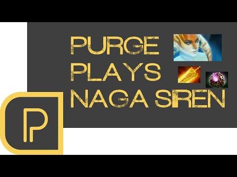 Dota 2 Purge plays Naga Siren