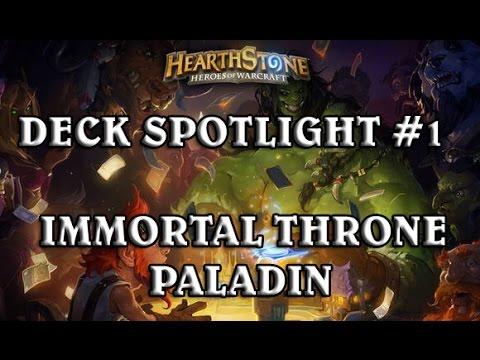 Hearthstone - Deck Spotlight #1 - Immortal Throne Paladin (Giants Paladin v2)