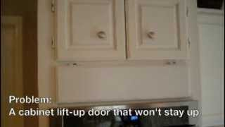 Cabinet Vertical Door Stay Diy