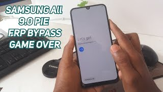 FRP BYPASS SAMSUNG 2019 (ANDROID 9.0 PIE) All DEVICE : A10,A20,A30,A40,A50,A60,A70,A90