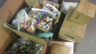 SURPLUS 25+ Pounds Lego Minifig Parts + Accessories! To Storage they will GO!