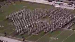 Texas A&M Halftime Full Band Performance Vs. OU