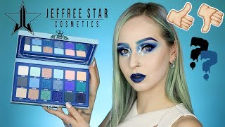 JEFFREE STAR Blue Blood Palette | Revue, Swatches & Tuto