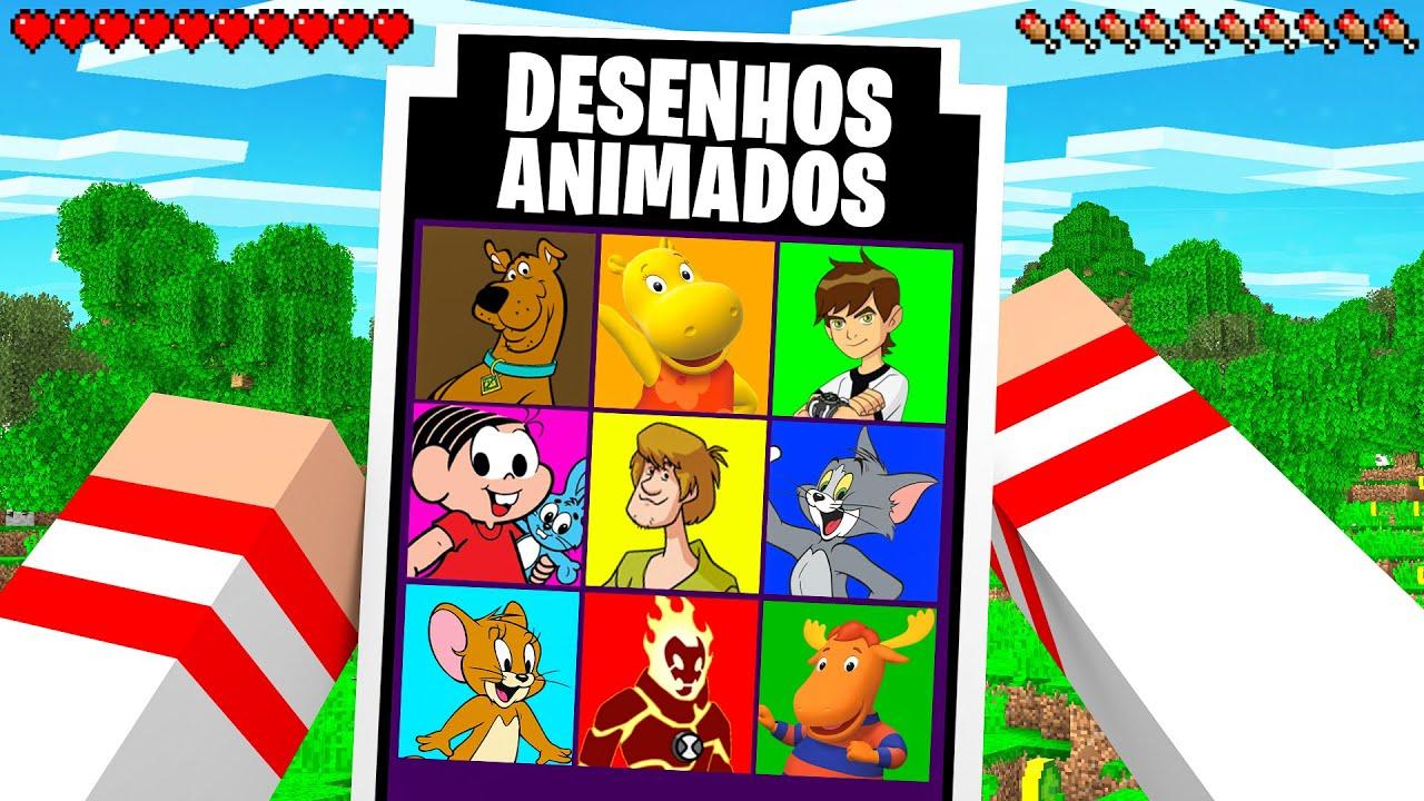 Download NÃO ESCOLHA O DESENHO ANIMADO ERRADO NO MINECRAFT !