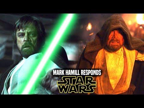 Star Wars! Mark Hamill Responds To Remaking The Last Jedi & More! (Star Wars News)