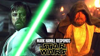 Star Wars! Mark Hamill Responds To Remaking The Last Jedi & More! (Star Wars News)