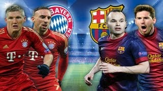 UEFA Champions League Semi-Final 2013: Bayern München vs. FC Barcelona