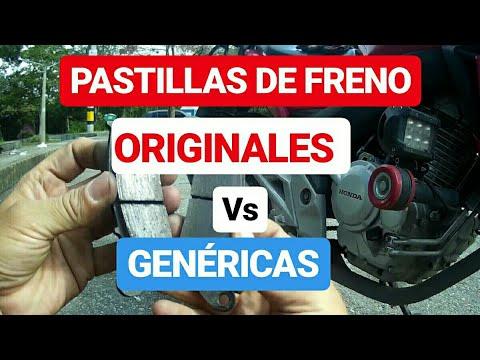 PASTILLAS De FRENO ORIGINALES Versus GENÉRICAS...¿ Vale La Pena ??