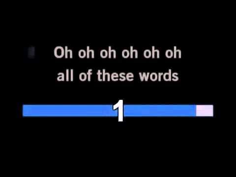 Adele Rumour Has It Karaokeinstrumental With Lyrics