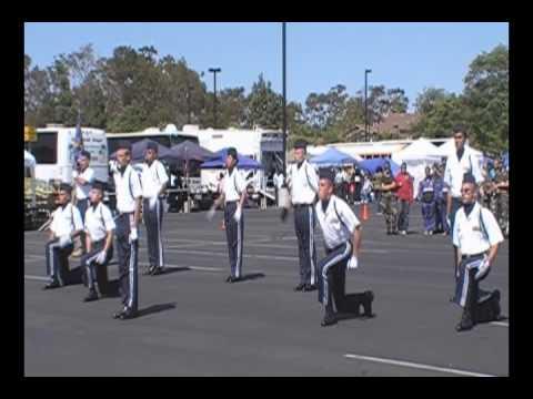 Drill team 10 man Exhibition Golden Bear 09 CA782