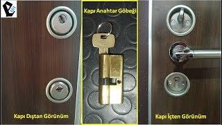 Çelik Kapı Anahtar Göbeği Nasıl Değiştirilir ? (Detaylı Gösterim)