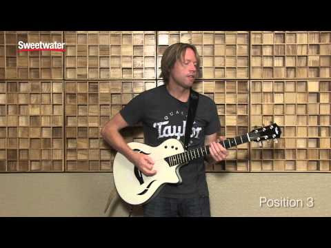 Taylor T5z Acoustic-electric Guitar Demo by Sweetwater Sound