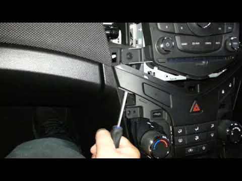 How to remove the radio from a Holden Cruise
