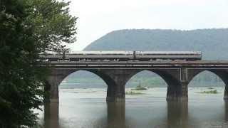 Amtrak Pennsylvanian train 43 Rockville Bridge 6 14 15