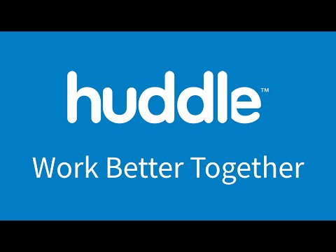 This is Huddle 2016