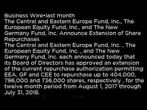 EEA - The European Equity Fund, Inc EEA buy or sell Buffett read basic