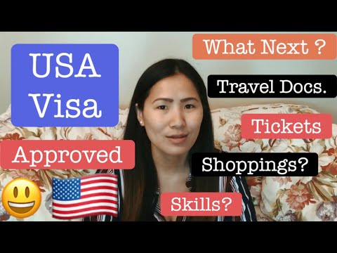 US Visa Interview Approved| What next | F1/F2 or B1/B2 or any USA Visa |  Tips |
