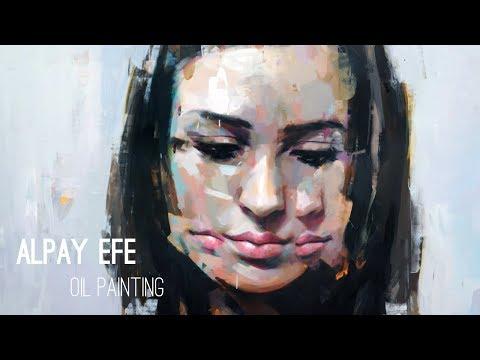 Breach // oil painting // Alpay Efe
