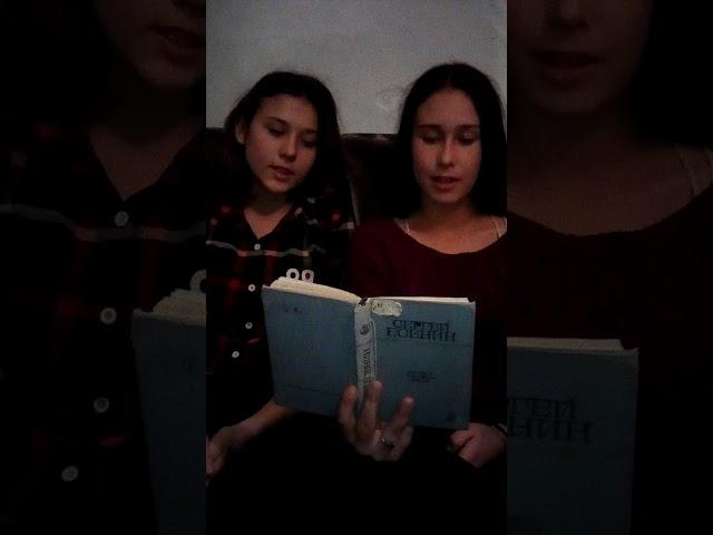 Изображение предпросмотра прочтения – СветланаКасьянова читает произведение «Кантата» С.А.Есенина
