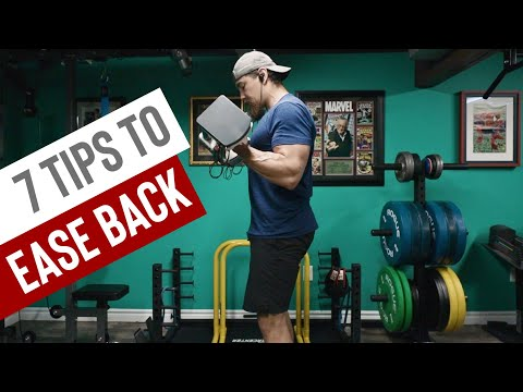 7 Tips When Returning to the Gym After a Break