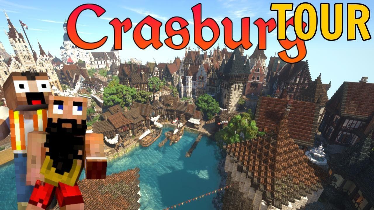 Complete TOUR of Crasburg with Keralis | Crasburg | Episode 80 - Medieval Minecraft City