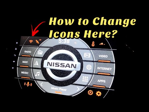 How to Change Info Icons on Agama Car Launcher?