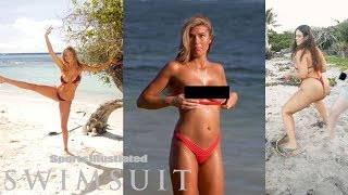 Samantha Hoopes and Kate Upton's Funniest Moments   OUTTAKES   Sports Illustrated Swimsuit