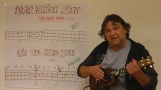 Fingerstyle Ukulele Lesson #39: Riffs, Intros &  Songs (#5) : SEVEN NATION ARMY / HIT THE ROAD