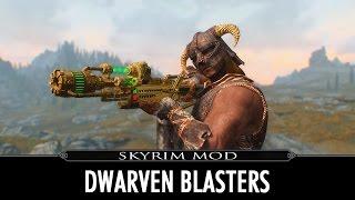 Skyrim Mod - Dwarven Blasters
